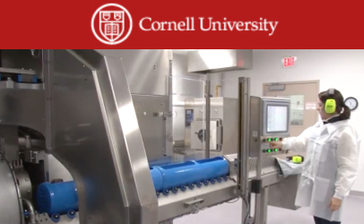 Heavy man — Cornell's Hiperbaric 55 pressures pathogens