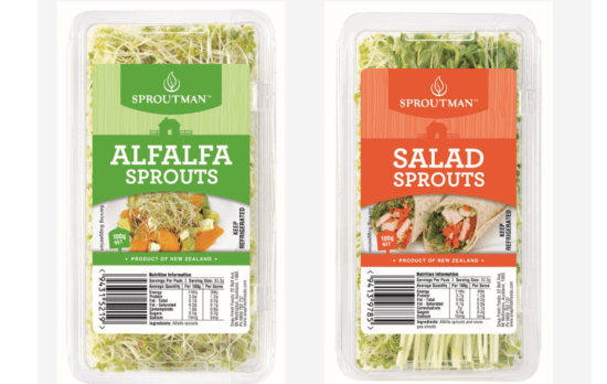 sproutman sprouts nz recall salmonella