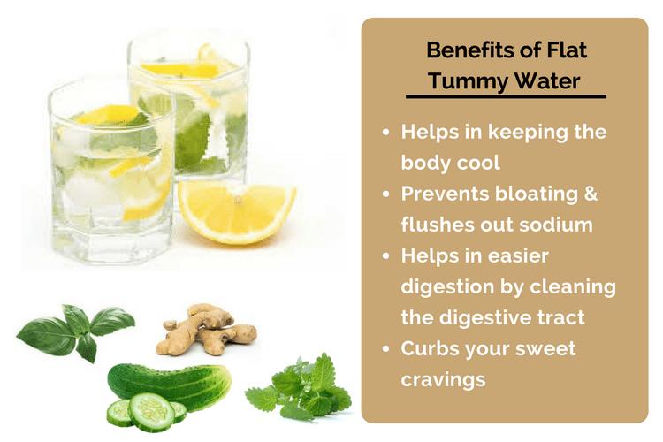 Flat Tummy Water Benefits