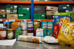 Emergency food supplies (photo: Trussell Trust)