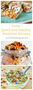 Quick and Healthy Breakfast Recipes