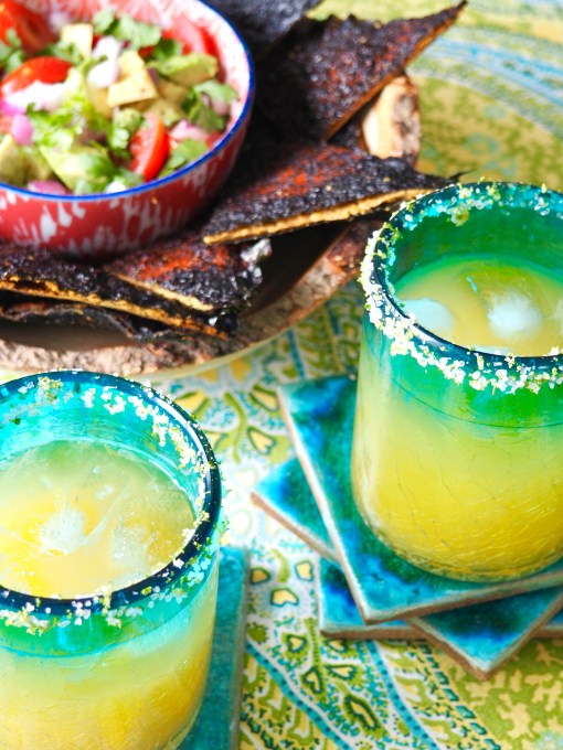 Crispy Nori Chips and Simple Skinny Margaritas