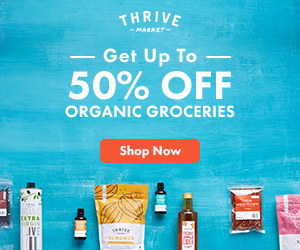 Thrive Market Discount Membership