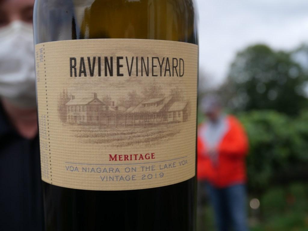 Ravine Vineyard Meritage wine