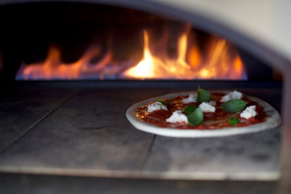 Pizza foodtruck traditioneel