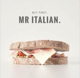 foodtruck met croques italiaans