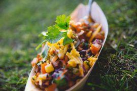 foodtruck met bbq chili