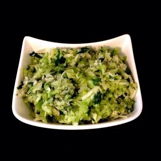 Veganer Sellerie-Fenchel-Slaw