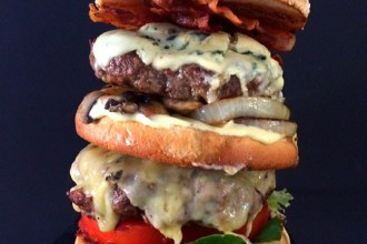 The Big Q - Double Beef Burger
