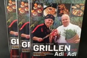 Grillen mit Adi & Adi – Grillbuch zu gewinnen