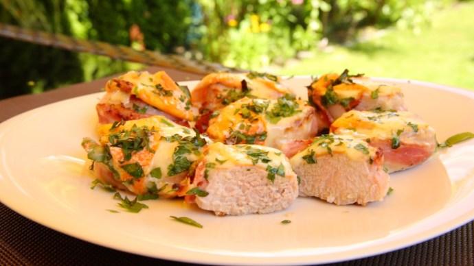 Käse-Bacon-Filets