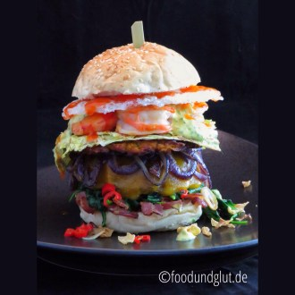 Surf und Turf US-A-SIA Burger