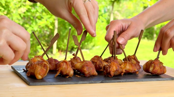 Mozzarella-Bacon-Sticks