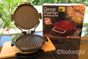 George Foreman Entertaining Fitness Grill