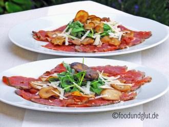 Sliced Kitchen - Gegrilltes Rindercarpaccio