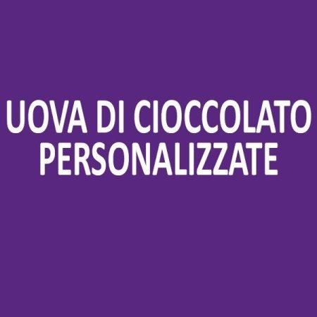 Uova di cioccolato personalizabili