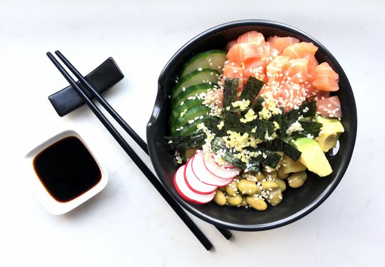 sushi bowl lazy sushi