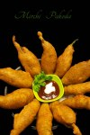 Mirchi Pakoda-mirchi bajjilu recipe
