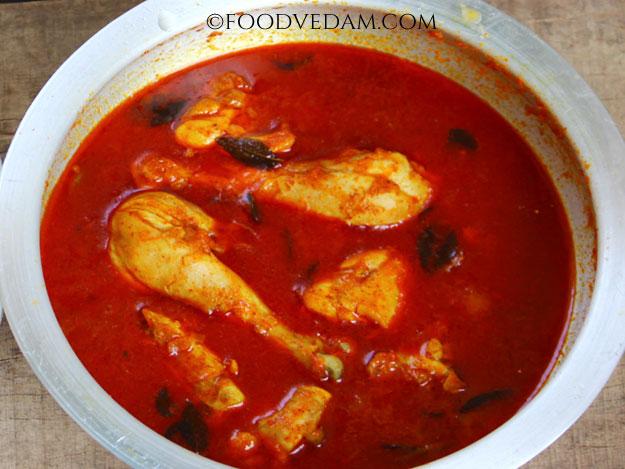 Ajantha kodi curry