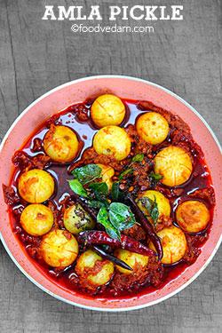 Amla pickle |Usirikaya pachadi|Gooseberry pickle recipe