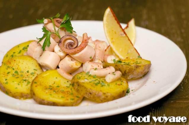 Осьминог с картофелем, Пульпо А Фейра (Pulpo á Feira)