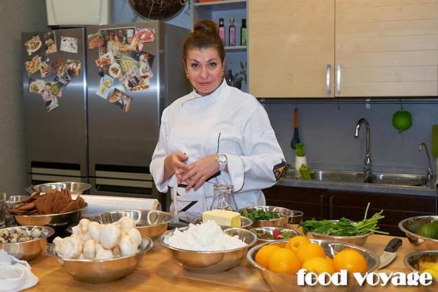 Мастер класс в кулинарной студии CLEVER