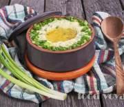 Чамп — ирландское картофельное пюре с зелёным луком