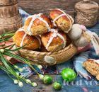 Английские пасхальные булочки Hot Cross Bun