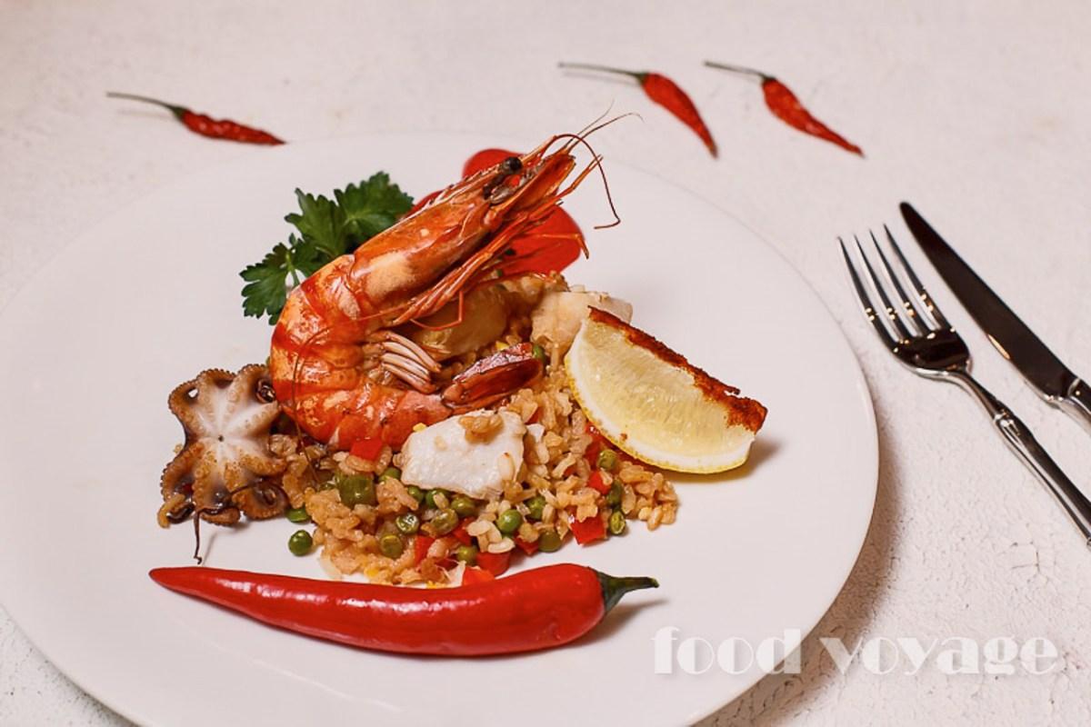 Паэлья с морепродуктами - Рaella de marisco