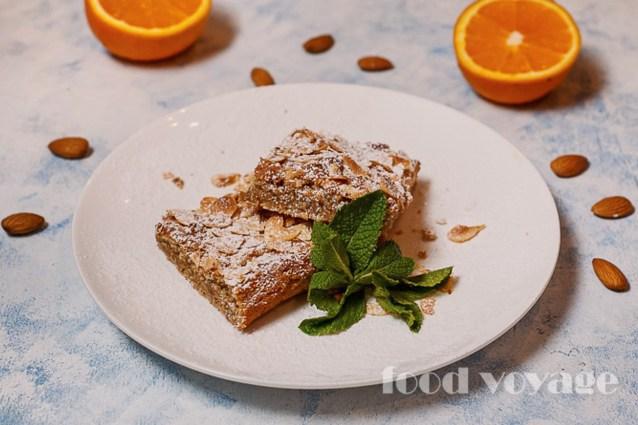 Галисийский миндальный пирог — Tarta de almendras