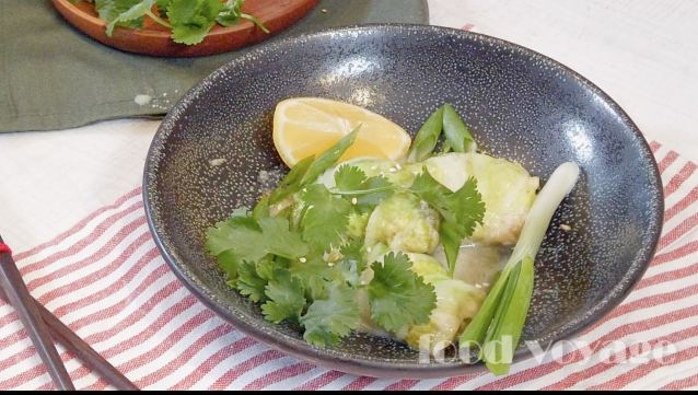 Вкусный рецепт голубцов из пекинской капусты с кальмарами в тайском соусе