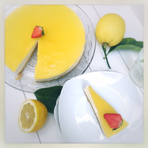 cheese cake, no bake, Lemon, Zitronen, Tarte, rezepte nach abc, foodwerk.ch