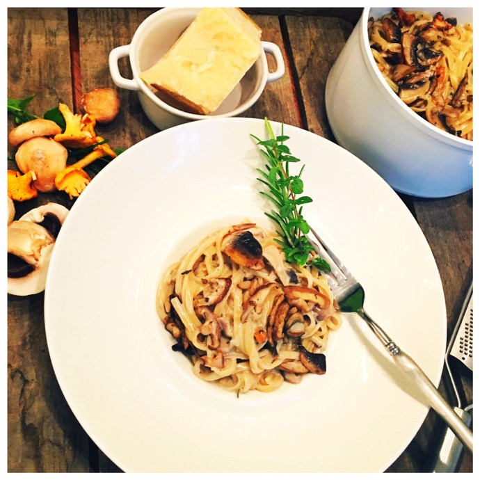 one pot, Pilze, foodwerk.ch, herbst
