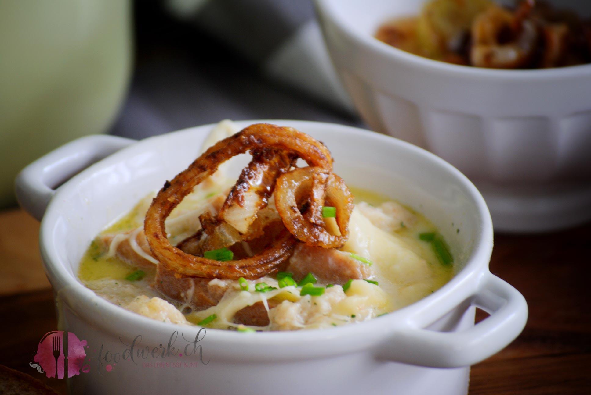 Lozärner Chässoppe (Luzerner Käsesuppe) zur Lancierung der #localgusto App