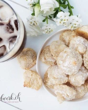 vegane und glutenfreie Amaretti. Der Ideale begleiter zu Kaffee
