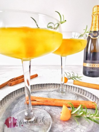 Pumpkin Spice Sirup mit Secco by Rimuss