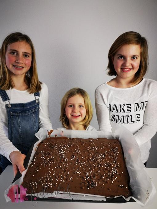 Schoko Blechkuchen zeigen