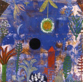 Versunkene Landschaft 1918 Painting by Paul Klee; Versunkene Landschaft 1918 Art Print for sale