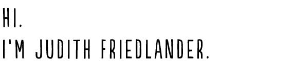 judith friedlander