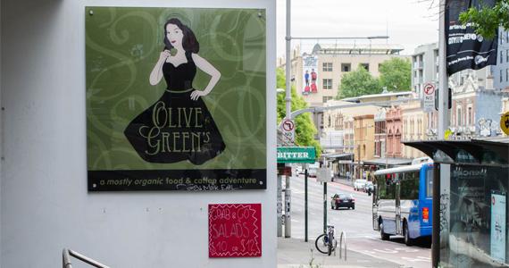 Olive Greens Cafe banner