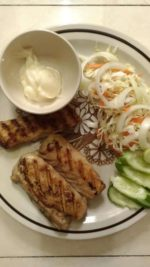 (Recipe) How to properly make grilled fish steak