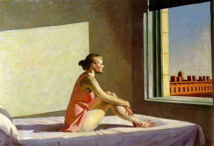 The Morning Sun - E. Hopper