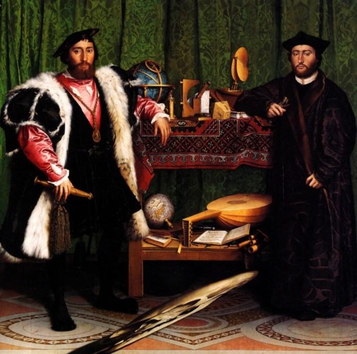 Les Ambassadeurs - Hans Holbein, 1533