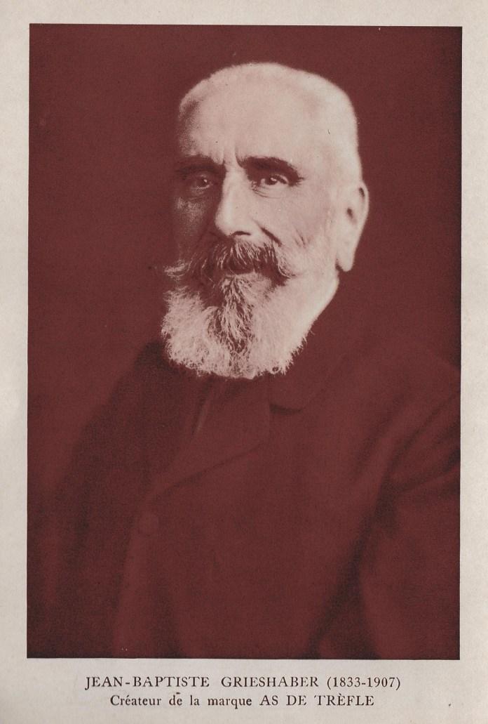 Jean-Baptiste Grieshaber (1833-1907) créateur de la marque As de trèfle