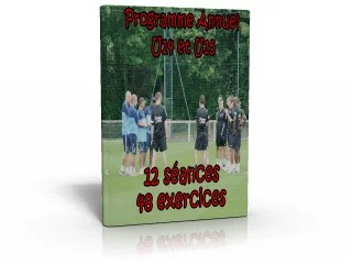 Programme Exercices Annuel Foot U15 foot Entrainements