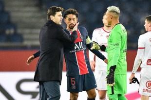 Football PSG – PSG: Pochettino broadcast error?  Pierre Menes attacks