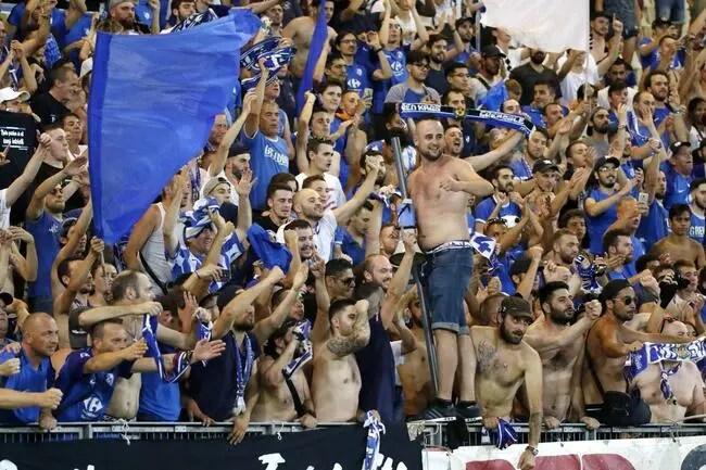 L2: Gros combat entre les supporters de Grenoble et ceux de Nancy
