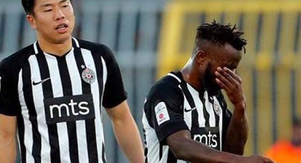 FK Partizan: Seydouba Soumah à deux doigts de voir sa carrière s'arrêter
