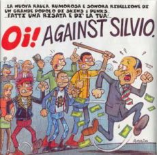 oi! against silvio - front2