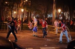 scontri a madrid europa league 9 Maggio 2012